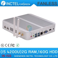Haswell 4K HD mini pc intel i5 with Intel Core i5 4200U 1.6Ghz CPU Haswell Architecture SOC design 2G RAM 160G HDD windows Linux