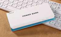Blue Free shipping Power Bank 50000mAh New Portable Charger Battery External Battery Charger Powerbank