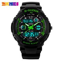 relogio digital Sport Watches 30M Digital Analog Sports Watches Men Luxury Brand S Shock Military LED Quartz Men Casual Watches
