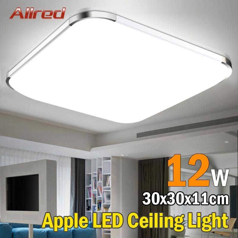 Wholesale 12w square aluminum modern led ceiling lights for Living room 2700k or 3000k