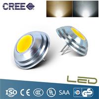 4pcs/lot LED SMD 2W DC 12V LED Lighting COB integrated Led car lights 280 Degree  LED Spotlight Replace 30W halogen lamps