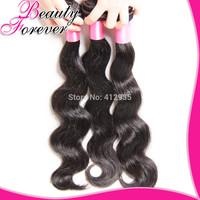 Beauty Forever Hair Unprocessed Brazilian Virgin Hair Extension 3/4 Pcs 6A Cheap Human Hair Weave Brazilian Body Wave BFBW089