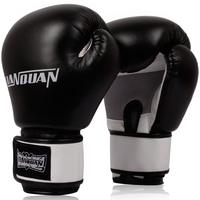 Free shipping adult children boxing gloves half finger glove sandbag training Muay Thai professional fighting