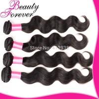 Beauty Forever Hair Peruvian Virgin Hair Body Wave 3 Pcs/Lot 6A Peruvian Hair Weave Bundles Human Hair Weft Free Shipping