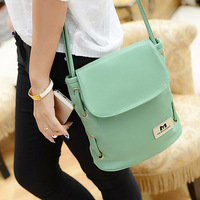 FREE SHIPPING women Bag 2014 new fashion handbags shoulder diagonal trend candy colored bucket bag ladies bag Messenger packet
