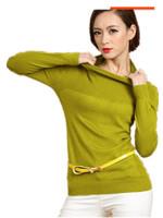 2014 Autumn Winter New Arrival Female cashmere sweater, fashion Candy Color Female Slim  Pullovers  Maxi SIZE : S M L XL XXL