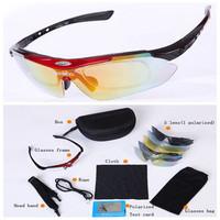 Brand Glasses Polarized Sunglasses Men Women Outdoor Sports Cycling Bicycle Fishing Sun Glasses Goggle Eyewear 5 Lens/set