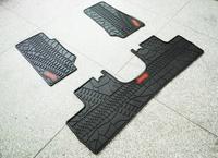 Rubber Slush Floor Mats (3 pieces/set) for JEEP WRANGLER JK & WRANGLER UNLIMITED JK 2007-2013