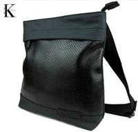 2014 New Fashion Men's Travel Bag C Brand Men Messenger Bags Small PU Leather Hollow Out Men's Shoulder K Bag Designer XB112