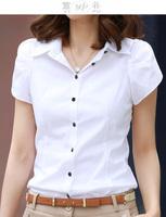 Women Blouse Shirt Formal Plus Size Roupas Blusas Camisas Femininas Shirts Women Work Wear Tops Ladies Blouses White T Shirt