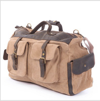 2014 new canvas bag, crazy horse leather bags, restoring ancient ways men and women of leisure packages