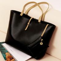 FREE SHIPPING Designers Brand handbags women leather handbag shoulder women bags Vintage Simple PU Leather Bag Handbag