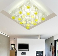 2014 new crystal 5W modern LED home lighting chandeliers bedroom led lamps AC110V 220V 230V 240V lustres home decoration