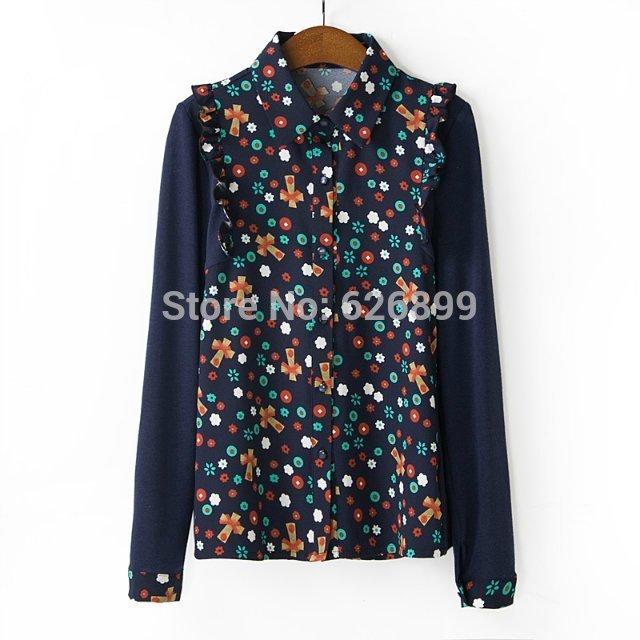Женские блузки и Рубашки Blusa AH29 женские блузки и рубашки blusa ah29