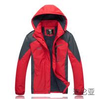 2014 new men / womenbrand  winter plus velvet jacket warm windproof waterproof jackets, ski mountaineering camping Fleece jacket