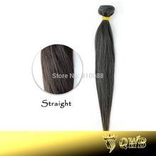 Free Combination 10''~34'' Straight QWB Virgin Brazilian Hair 5A Grade Cuticle Intact Virgin Hair(China (Mainland))