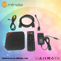 Original MXQ Amlogic S805 Quad Core XBMC TV Box Android 4.4 H.265 Support Wifi LAN Miracast Airplay 1G 8G  DLNA
