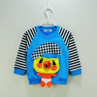 Dear Baby Brand 2014 NEW Autumn Spring Children Kids Boy Tee Shirt Long Sleeve Cartoon Clothes Children T-shirts Girls Tops 2~5T