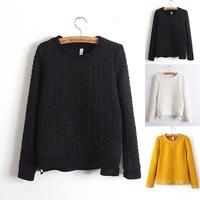 Three Colors,New 2014 Occident Women Autumn Casual Sweatshirt Thicken Embossed  Pullovers Fashion Zipper Hoodies lulu Hoodie