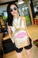 New 2014 Promotion Silver Hologram Laser Backpack men Bag leather bag Multicolor Silver and gold Business Zipper Backpack women