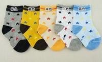 2014 children sock 100% cotton  baby socks brand socks carter 10pairs one lot colorful socks