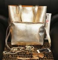 ew 2014 fashionable women handbag casual crocodile pattern women leather handbags shoulder bags women messenger bags