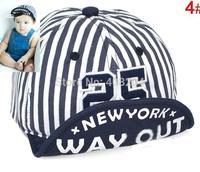 Retail Boy Girl Unisex children Kids 25 letter Baseball Hats cotton Cap Soft brim fashion Accessory fit 1-3 years 4 colors