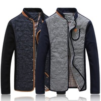 2014 New Hot Mens Jackets and Coats Spring And Autumn Casual High - Quality Mandarin Collar Men Coat for boys wholesale