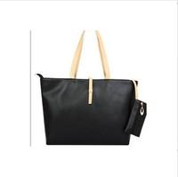 Hot ! Free Shipping Promotion Leisure bag All-match bag women's handbag brief large capacity shoulder bag lady handbag HB029