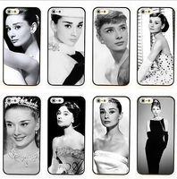 Vintage Fashion Audrey Hepburn Case Plastic Back Cover for iphone 6 4.7inch
