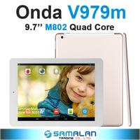"9.7"" Onda V979m Amlogic M802 Quad Core  Retina IPS 2048x1536 Android 4.3 Dual Camera up to 5.0MP"