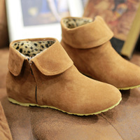 Autumn Boots Fashion Womens Ankle Boots Flat Causa Women Shoes plus Size Free Shipping ASBOA101