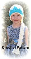 free shipping,New Crochet Elsa hat & Anna Hat , girls crochet hats,winter Hat for Kids Girl Size for Children to adult - stock