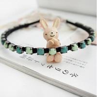 10pcs/lot Free Shipping Elegant Fashion Color Jewelry Stones Headband Hairbands