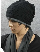 New Knitting Winter Wool Brand Beanies Hip Hop Warm Hats / Gorros / Bonnets for Fashion Men Women Double sided available