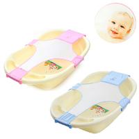 1Pcs Baby Safety Bath Newborn Bath Seat Bathing Adjustable Baby Bathtub Safety Security Bath Seat Support High Quality ej871405