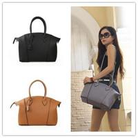 New Arrival Women's Famous design 2015 fashion genuine leather handbags embossed leather messenger bags big handbag 8092