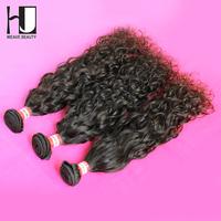 New Arrival HJ Hair Peruvian Hair 6A Grade Water Wavy 3pcs/lot 6A Unprocessed Peruvian Virgin Hair Weave Free Shipping