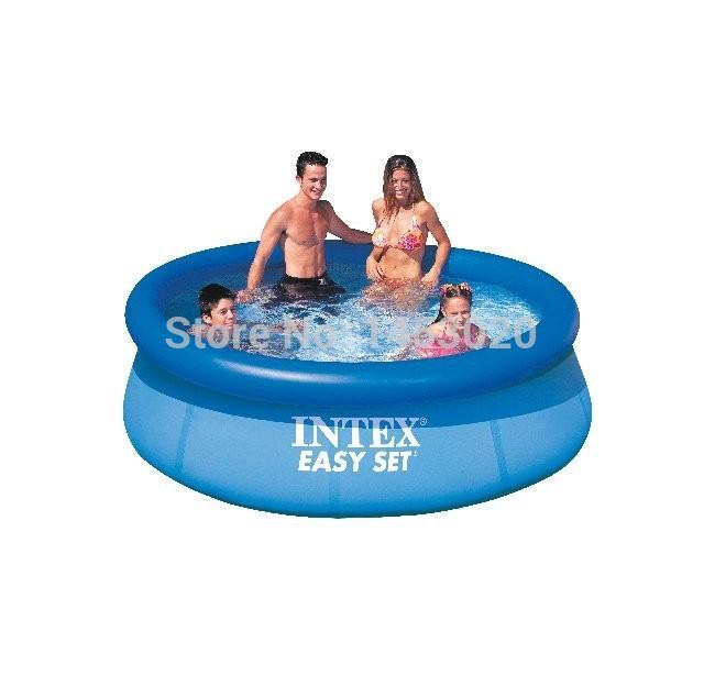 INTEX#28110 Easy Set Pool:8FL*30IN POOL-Free shipping(China (Mainland))