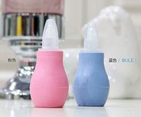 Newborns Kids Nasal Vacuum Mucus Suction Aspirator Soft Tip Runny Nose Cleaner