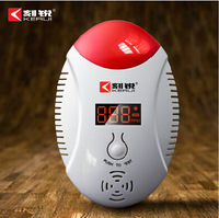 Free shipping!  KERUI LED Digital Display Carbon Monoxide CO Detector Voice Strobe Alarm Sensor Home Alarm System Fire Detector