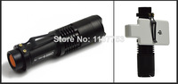 High Power camp or hunting  Head Light Aluminum  Zoomable 300 Lumens SK68 Q5 LED Flashlight Torch Include 1x14500 battery