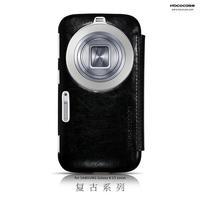 10pcs/lot Original HOCO Retro Series Flip Leather Case For Samsung Galaxy S5 K Zoom C1158 ,+Retail + Free shipping