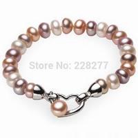 """100% natrual freshwater pearl bracelet, wedding gift, length 18cm(7.1"""")  or 19cm(7.5""""),bangles"""