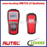 NEWEST Diagnostic Original AUTEL MaxiDiag Elite MD701 for 4 System Update Internet+DS Model