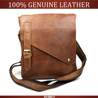 2014 Hot men's bag Genuine leather men Messenger bag leisure bag briefcase men's fashion men's leather bags Y9185