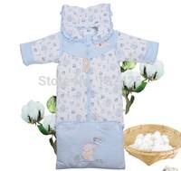 Free shipping 100% cotton baby sleeping bag