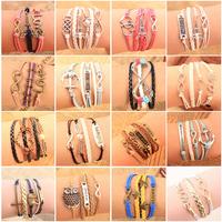 Браслет с брелоками Crystal shop M16 bracelet