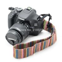 NEW Vintage Camera Shoulder Neck Strap Sling Belt for Nikon Canon Sony Panasonic SLR DSLR ILDC (Random Color)