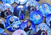20pcs/lot 4.4cm frozen design badge/pin badg/tin badge/button badge cartoon logo